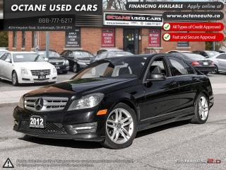 Used 2012 Mercedes-Benz C-Class for sale in Scarborough, ON