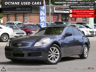 Used 2009 Infiniti G37 X Sport for sale in Scarborough, ON