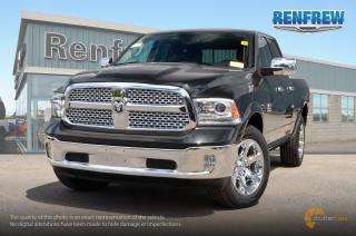 New 2018 RAM 1500 2018 RAM 1500 Laramie 3.0L Ecodiesel V6 4x4 Quad / Double Cab 6' 4