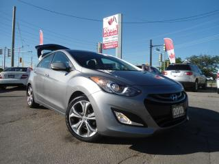 Used 2013 Hyundai Elantra GT AUTO PANORAMIC ROOF LEATHER NO ACCIDENT LOADED 5DR for sale in Oakville, ON