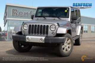 Used 2015 Jeep Wrangler Unlimited 2015 Jeep Wrangler Unlimited Sahara 4x4 SUV for sale in Renfrew, ON
