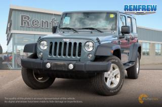 Used 2015 Jeep Wrangler Unlimited 2015 Jeep Wrangler Sport Unlimited 4x4 SUV for sale in Renfrew, ON