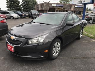 Used 2014 Chevrolet Cruze 2LS LOW kms!!!! for sale in Brantford, ON