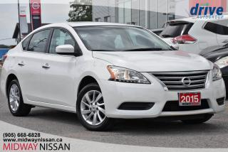 Used 2015 Nissan Sentra 1.8 SV for sale in Whitby, ON