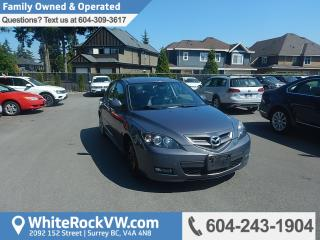 Used 2008 Mazda MAZDA3 GT BC Driven, Heated Front Seats, Cruise Control & Power Steering for sale in Surrey, BC
