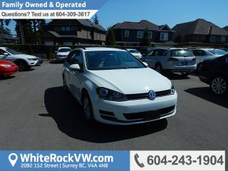 Used 2015 Volkswagen Golf Sportwagon 1.8 TSI Trendline BC Driven, Heated Front Seats & Radio Data System for sale in Surrey, BC