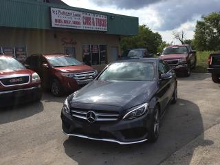 Used 2015 Mercedes-Benz C-Class for sale in Bolton, ON