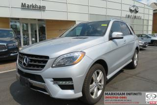 Used 2014 Mercedes-Benz ML-Class ML350 Bluetech, Leather, Camera, Navi, Premium Sound, Pano for sale in Unionville, ON