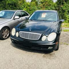 Used 2003 Mercedes-Benz E500 CERTIFIED- AFFORDABLE LUXURY AT ITS FINEST for sale in Toronto, ON