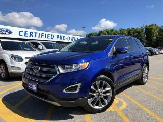 Used 2015 Ford Edge Titanium for sale in Barrie, ON
