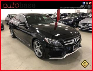 Used 2015 Mercedes-Benz C-Class C300 4MATIC PREMIUM PLUS HUD LED SPORT for sale in Woodbridge, ON