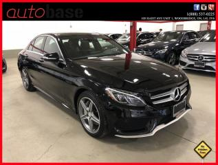Used 2015 Mercedes-Benz C-Class C300 4MATIC PREMIUM PLUS HUD BURMESTER SPORT LED for sale in Woodbridge, ON