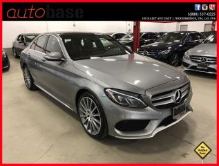 Used 2015 Mercedes-Benz C-Class C400 4MATIC PREMIUM SPORT LED RED INT! for sale in Woodbridge, ON