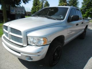 Used 2005 Dodge Ram ST**Clean no ACCIDENTS, Certified + FREE 6M warran for sale in Ajax, ON