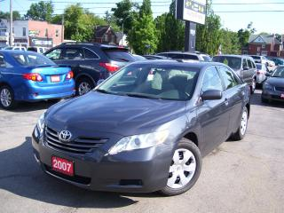 Used 2007 Toyota Camry LE,AUTO,A/C,CERTIFIED for sale in Kitchener, ON