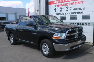 Used 2009 Dodge Ram 1500 Cabine quad 4RM, 140,5 po ST for sale in Mirabel, QC