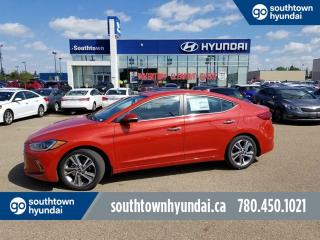 New 2018 Hyundai Elantra LIMITED - 2.0L NAV/SUNROOF/BACKUP SENSORS for sale in Edmonton, AB
