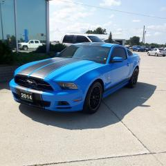 Used 2014 Ford Mustang Premium / LEATHER / NO PAYMENTS FOR 6 MONTHS for sale in Tilbury, ON