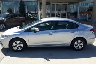 Used 2015 Honda Civic AUTO / LOW KMS / NO PAYMENTS FOR 6 MONTHS !! for sale in Tilbury, ON