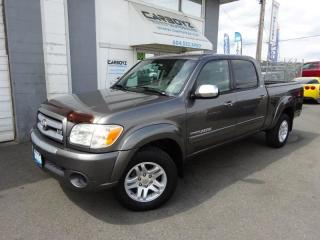 Used 2006 Toyota Tundra SR5 Double Cab, 4.7L V8 2WD, Only 119,000 Kms!! for sale in Langley, BC