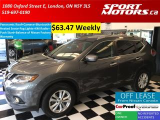 Used 2015 Nissan Rogue SV+Panoramic Roof+Camera+Bluetooth+Heated Seats+XM for sale in London, ON