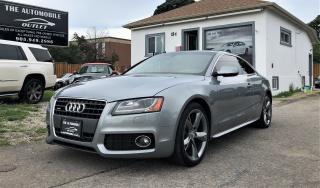 Used 2011 Audi A5 2.0L Premium AWD QUATTRO S-LINE MANUAL NO ACCIDENT for sale in Mississauga, ON