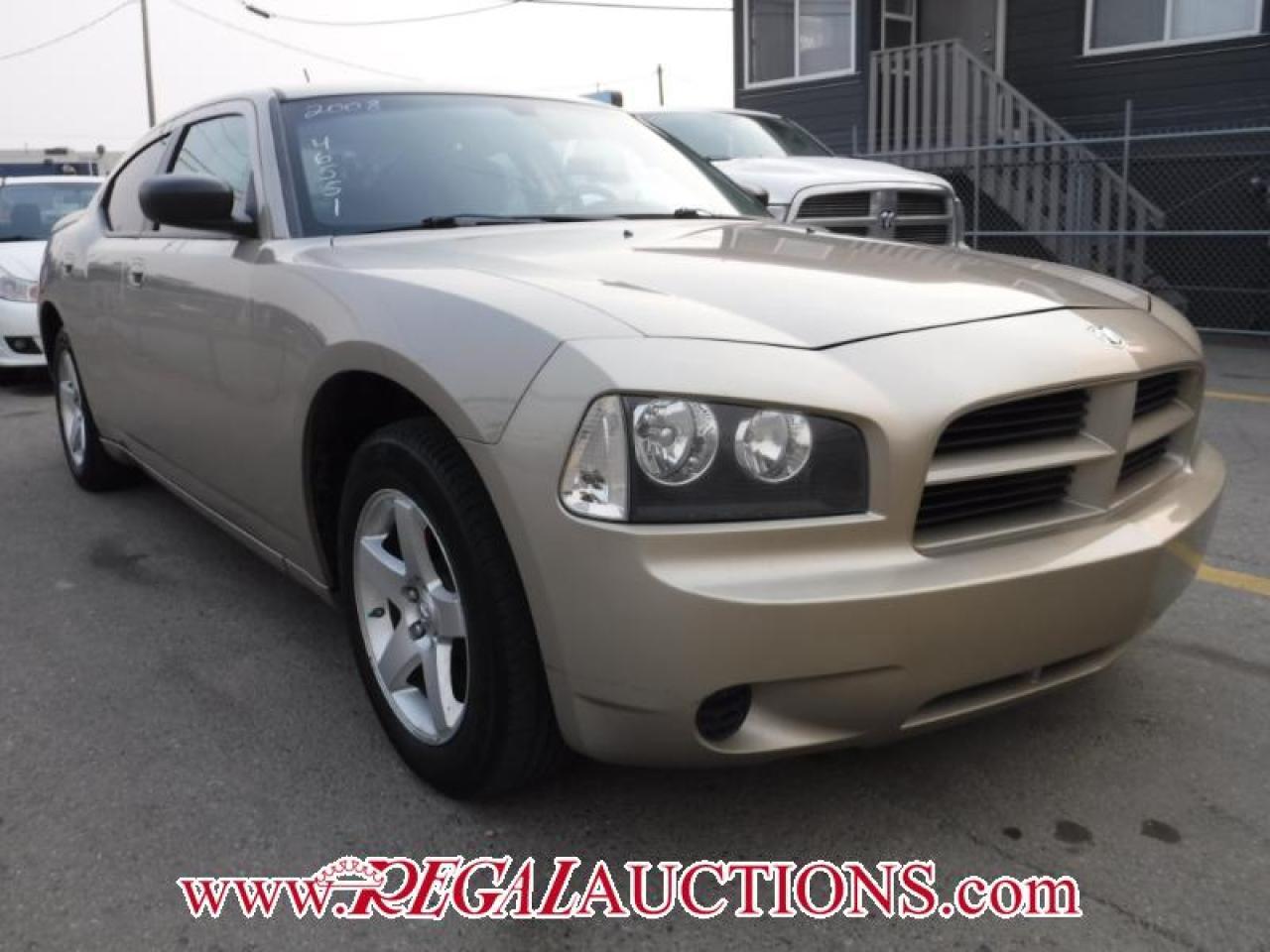 2008 Dodge CHARGER  4D SEDAN