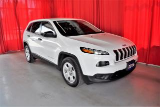 Used 2016 Jeep Cherokee Sport | FWD | One Owner | Low KM | Bluetooth for sale in Listowel, ON