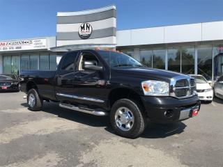 Used 2008 Dodge Ram 3500 Laramie 6.7L Diesel Long Box 4WD Tuned & Deleted O for sale in Langley, BC
