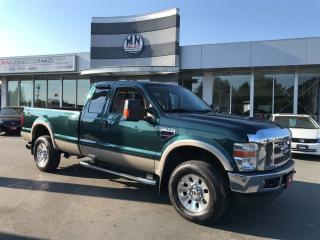 Used 2008 Ford F-350 Lariat 4WD 6.4L Diesel Only 189,000KM Cleanest Tru for sale in Langley, BC