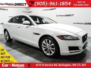 Used 2017 Jaguar XF 20d Premium| DIESEL| AWD| NAVI| SUNROOF| for sale in Burlington, ON