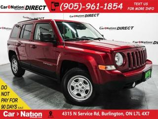 Used 2015 Jeep Patriot North| 4X4| ONE PRICE INTEGRITY| for sale in Burlington, ON