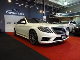 Used 2016 Mercedes-Benz S-Class S550 4MATIC LWB / HEADS UP DISPLAY / AMG PKG for sale in North York, ON