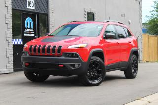 Used 2017 Jeep Cherokee Trailhawk*Leather*Pwr Gate*NAV*Luxury Ed*JAMMED for sale in Mississauga, ON