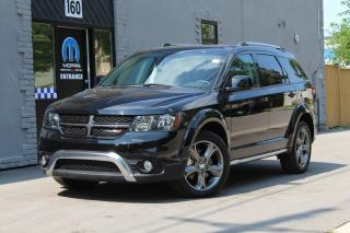 Used 2017 Dodge Journey Crossroad*SUNROOF*DVD*NAV*CAMERA*LEATHER*CLEAN for sale in Mississauga, ON