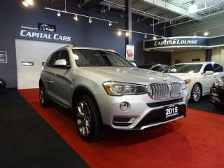 Used 2015 BMW X3 XDRIVE 2.8I / NAVIGATION / BACK UP CAMERA for sale in North York, ON