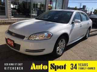 Used 2012 Chevrolet Impala LS/PRICED FOR A QUICK SALE ! for sale in Kitchener, ON