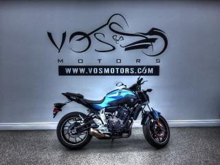 Used 2017 Yamaha FZ-07 - Free Delivery in GTA** for sale in Concord, ON