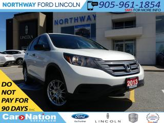 Used 2013 Honda CR-V LX | REAR CAMERA | HEATED SEATS | AWD | for sale in Brantford, ON