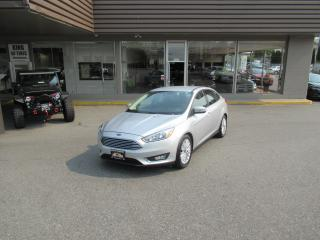 Used 2015 Ford Focus TITANIUM WITH AUTO PARK for sale in Langley, BC