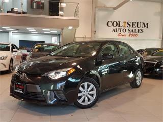 Used 2014 Toyota Corolla LE-AUTO-BACK UP CAMERA-BLUETOOTH-ONLY 95KM for sale in York, ON