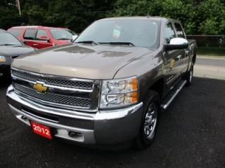 Used 2012 Chevrolet Silverado 1500 WORK READY LT MODEL 6 PASSENGER 4.8L - V8.. 4X4.. CREW CAB.. SHORTY.. TOW PACKAGE.. CD/AUX INPUT.. KEYLESS ENTRY.. for sale in Bradford, ON