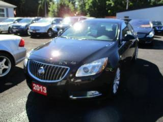 Used 2013 Buick Regal LOADED TURBO PREMIUM MODEL 5 PASSENGER 2.0L - 4 CYL.. LEATHER.. CD/AUX/USB INPUT.. KEYLESS ENTRY.. for sale in Bradford, ON