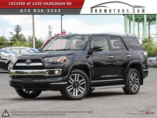 Used 2015 Toyota 4Runner Limited 7Passenger 4WD V6 for sale in Stittsville, ON