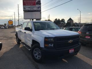 Used 2014 Chevrolet Silverado 1500 Work Truck w/1WT for sale in Woodbridge, ON