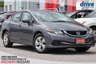 Used 2015 Honda Civic LX - Heated Seats|Bluetooth|Backup Cam for sale in Whitby, ON