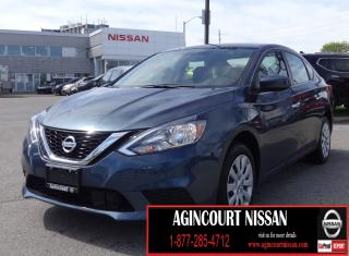 Used 2018 Nissan Sentra 1.8 SV |BACKUP CAMERA|BLUETOOTH|FRONT HEATED SEATS for sale in Scarborough, ON