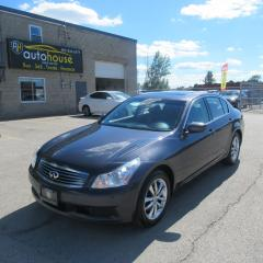 Used 2009 Infiniti G37 X Luxury AWD, LEATHER, SUNROOF, NAVI, BACKUP CAMERA for sale in Newmarket, ON