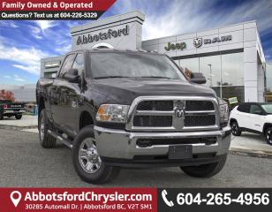 New 2018 RAM 3500 ST for sale in Abbotsford, BC