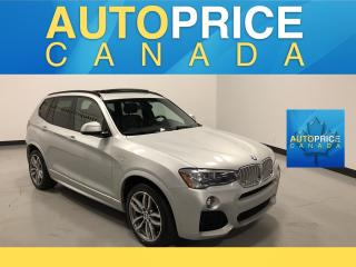 Used 2016 BMW X3 xDrive28i M-SPORT PKG|NAVIGATION|PANOROOF for sale in Mississauga, ON